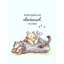 Komar Disney Wandbild Winnie Pooh Path 30 x 40 cm