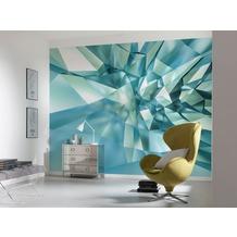 "Komar Fototapete ""3D Crystal Cave"" 368 x 254 cm"