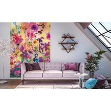 Komar Fototapete Fairies Flowers 200 x 250 cm