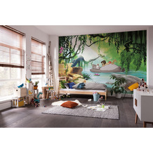 "Komar Fototapete ""Jungle book swimming with Baloo"" 368 x 254 cm"