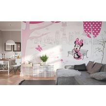 Komar Fototapete Minnie in Paris 400 x 250 cm