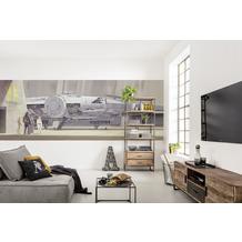 """Komar Fototapete """"STAR WARS Classic RMQ MilleniumFalcon"""" 368 x 127 cm"""