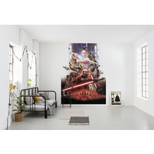 "Komar Fototapete ""STAR WARS EP9 Movie Poster Rey"" 184 x 254 cm"