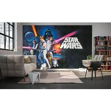 Komar Fototapete Star Wars Poster Classic 1 400 x 250 cm