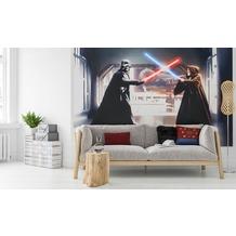 Komar Fototapete Star Wars Vader vs. Kenobi 300 x 200 cm