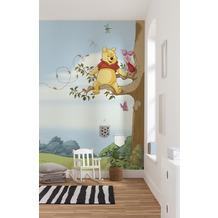 """Komar Fototapete """"Winnie Pooh Tree"""" 184 x 254 cm"""