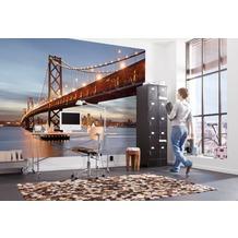 Komar Fototapete Bay Bridge 368 x 254 cm