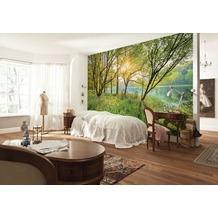 Komar Fototapete Spring Lake 368 x 254 cm