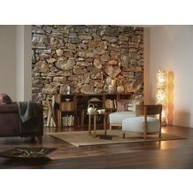 Komar Fototapete Stone Wall 368 x 254 cm