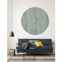 Komar Green Marble 125 x 125 cm Fototapete Dots