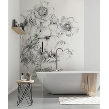 "Komar home Vlies Fototapete ""Embroidery"" 184 x 248 cm"