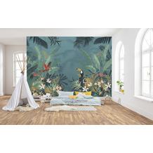 "Komar home Vlies Fototapete ""Enchanted Jungle"" 368 x 248 cm"