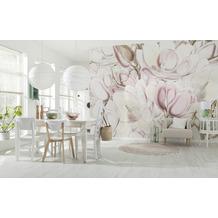 "Komar home Vlies Fototapete ""Petals"" 368 x 248 cm"
