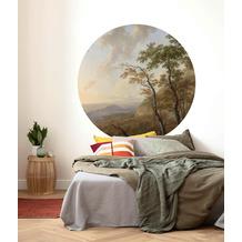 Komar Horizon 125 x 125 cm Fototapete Dots
