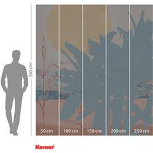 Komar INK Banana Leaves 250 x 280 cm