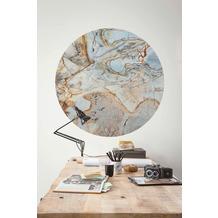 Komar Marble Sphere 125 x 125 cm Fototapete Dots