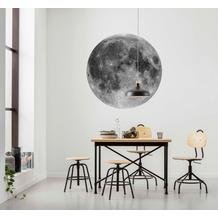 Komar Moon 125 x 125 cm Fototapete Dots