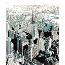 Komar Vlies Fototapete munich design book - Gotham 200 x 250 cm