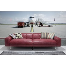 Komar Vlies Fototapete munich design book - Runway 350 x 250 cm