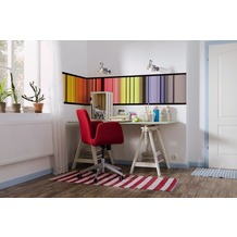 Komar Vlies Fototapete munich design book - Stripes 50 x 270 cm
