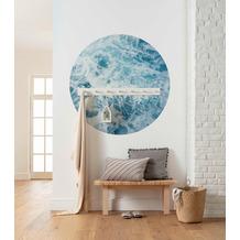 Komar Ocean Twist 125 x 125 cm Fototapete Dots