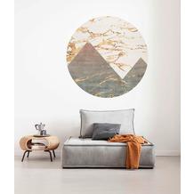 Komar Precious Peaks 125 x 125 cm Fototapete Dots