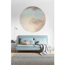 Komar Relic Clouds 125 x 125 cm Fototapete Dots