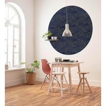 Komar Royal Blue 125 x 125 cm Fototapete Dots