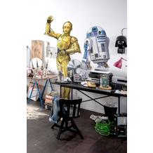 "Komar Selbstklebende Vlies Fototapete ""Star Wars XXL C-3PO"" 127 x 200 cm"