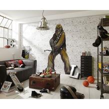 "Komar Selbstklebende Vlies Fototapete ""Star Wars XXL Chewbacca"" 127 x 200 cm"