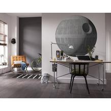 "Komar Selbstklebende Vlies Fototapete ""Star Wars XXL Death Star"" 127 x 127 cm"