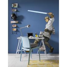 """Komar Selbstklebende Vlies Fototapete """"Star Wars XXL Luke Skywalker"""" 127 x 200 cm"""