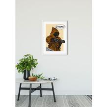 Komar Star Wars Wandbild Star Wars Classic Comic Quote Java 30 x 40 cm