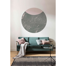 Komar Stripe Marmor 125 x 125 cm Fototapete Dots