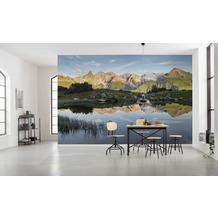 """Komar Vlies Fototapete """"Allgäu Spiegel"""" 450 x 280 cm"""