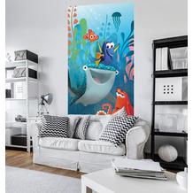 Komar Vlies Fototapete Disney Finding Dory Aquarell 150 x 250 cm