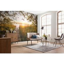 """Komar Vlies Fototapete """"Lakeside"""" 368 x 248 cm"""