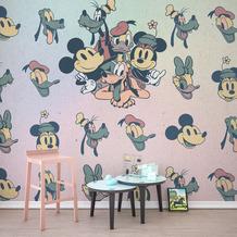 Komar Vlies Fototapete Disney Mickey Fab5 300 x 280 cm