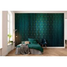 "Komar Vlies Fototapete ""Mystique Vert"" 400 x 280 cm"