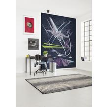 Komar Vlies Fototapete Star Wars Classic Concrete X-Wing 200 x 280 cm