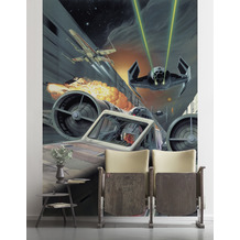 Komar Vlies Fototapete Star Wars Classic Death Star Trench Run 200 x 280 cm