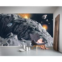 Komar Vlies Fototapete Star Wars Classic RMQ Asteroid 500 x 250 cm