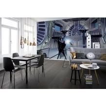 Komar Vlies Fototapete Star Wars Classic RMQ Duell Throneroom 500 x 250 cm