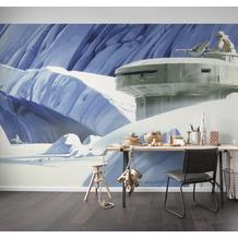 Komar Vlies Fototapete Star Wars Classic RMQ Hoth Echo Base 500 x 250 cm