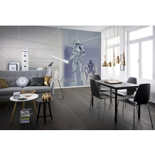 Komar Vlies Fototapete Star Wars Classic RMQ Stormtrooper Hallway 500 x 250 cm