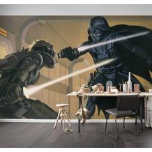 Komar Vlies Fototapete Star Wars Classic RMQ Vader vs Luke 500 x 250 cm