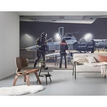 Komar Vlies Fototapete Star Wars Classic RMQ Yavin Hangar 500 x 250 cm