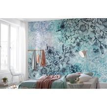 "Komar Vlies Fototapete ""Windflowers"" 368 x 248 cm"