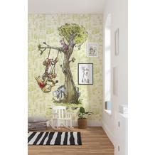 Komar Vlies Fototapete Disney Winnie Pooh in the wood 200 x 280 cm