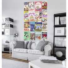 "Komar Vlies Panel ""Disney Movie Posters Retro Girls"" 120 x 200 cm"